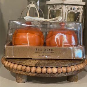 Rae Dunn Pumpkin Shaped Salt And Pepper Shakers